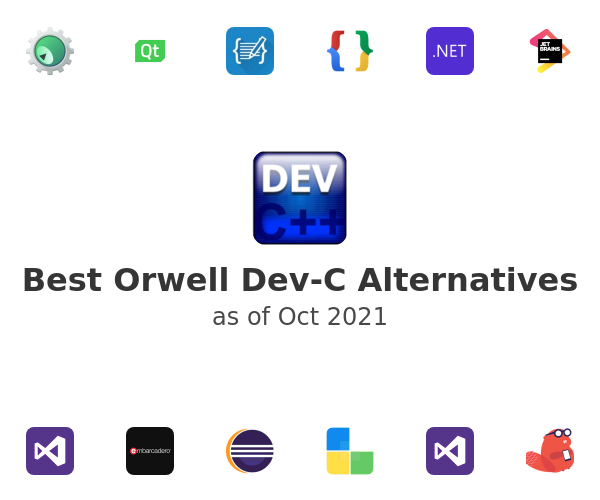 Best Orwell Dev-C Alternatives