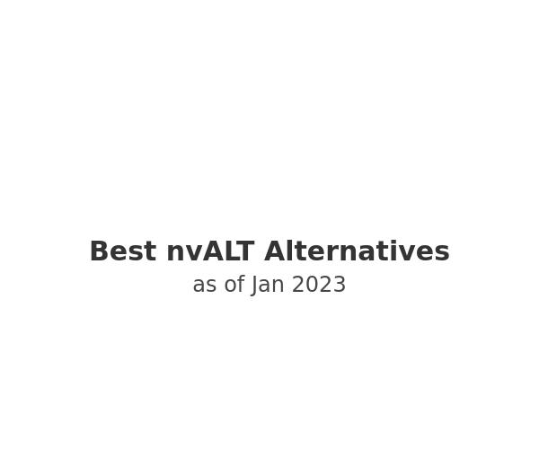 Best nvALT Alternatives