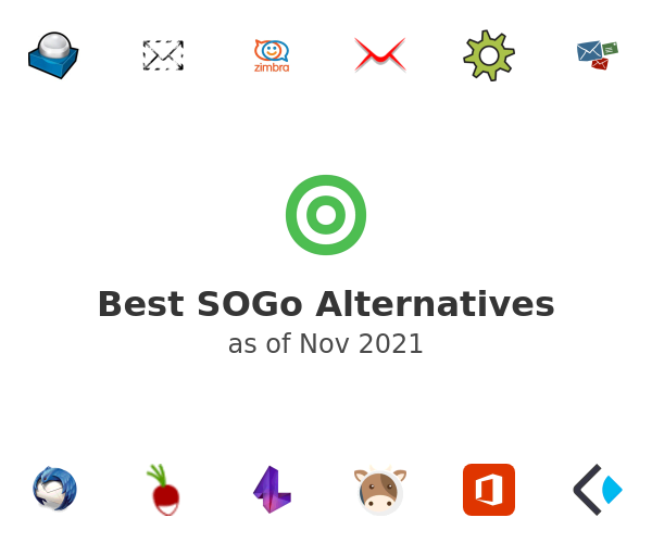 Best SOGo Alternatives