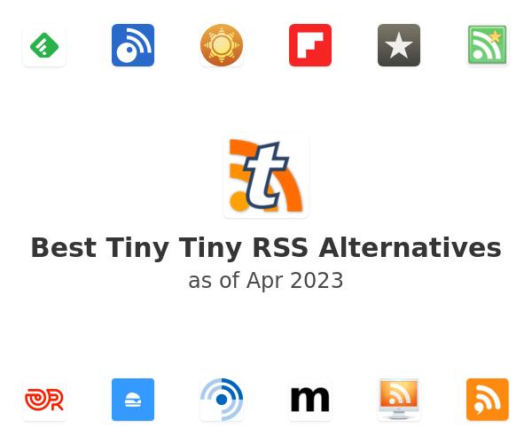 Best Tiny Tiny RSS Alternatives