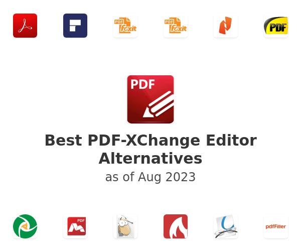 Best PDF-XChange Editor Alternatives
