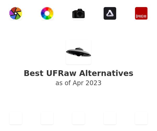 Best UFRaw Alternatives