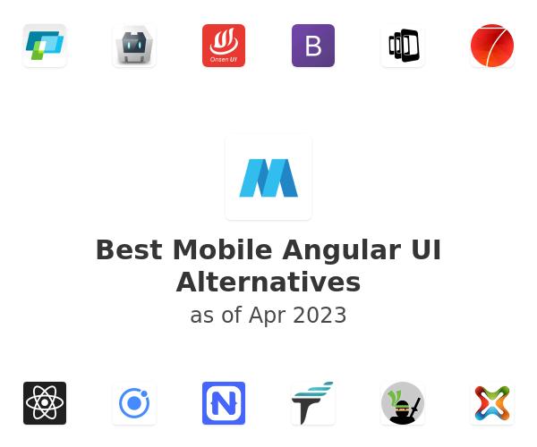 Best Mobile Angular UI Alternatives