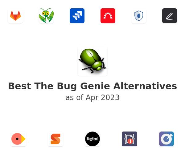 Best The Bug Genie Alternatives