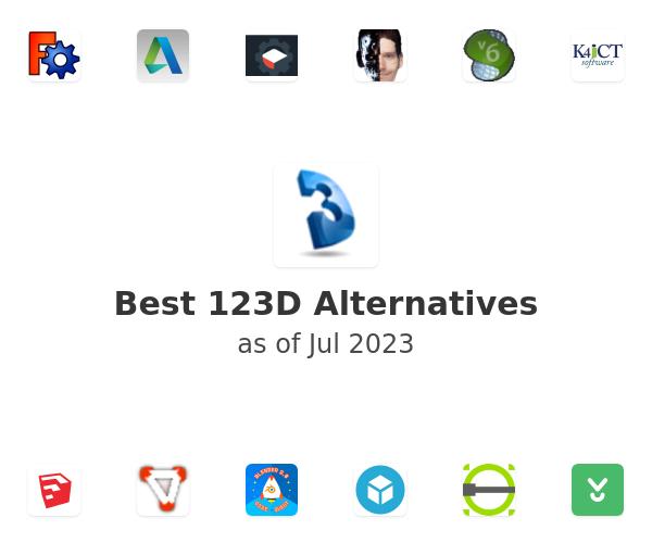 Best 123D Alternatives