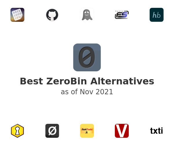 Best ZeroBin Alternatives