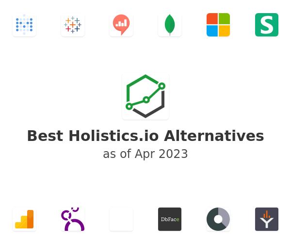 Best Holistics.io Alternatives