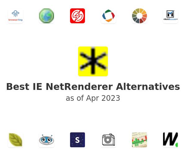 Best IE NetRenderer Alternatives