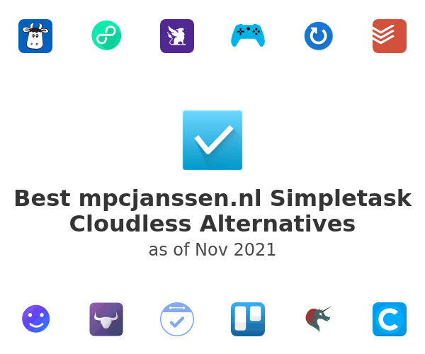 Best Simpletask Cloudless Alternatives