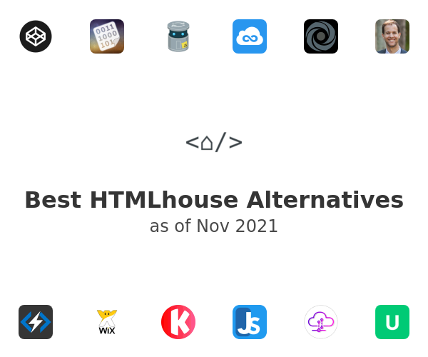 Best HTMLhouse Alternatives