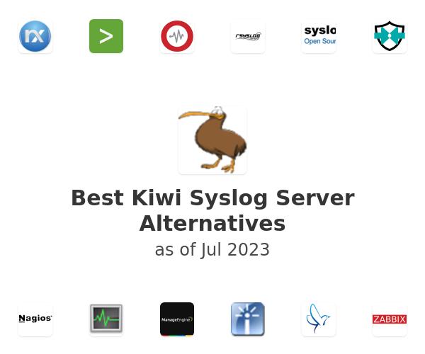 Best Kiwi Syslog Server Alternatives
