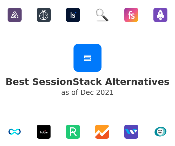 Best SessionStack Alternatives