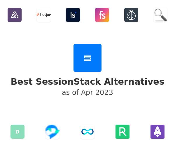 Best SessionStack Alternatives