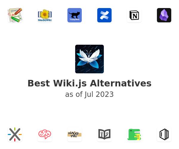 Best Wiki.js Alternatives