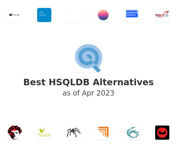 Best HSQLDB Alternatives
