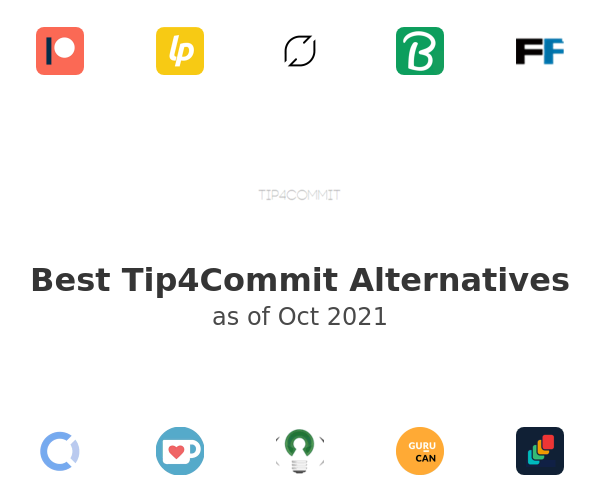 Best Tip4Commit Alternatives