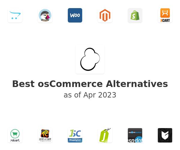 Best osCommerce Alternatives