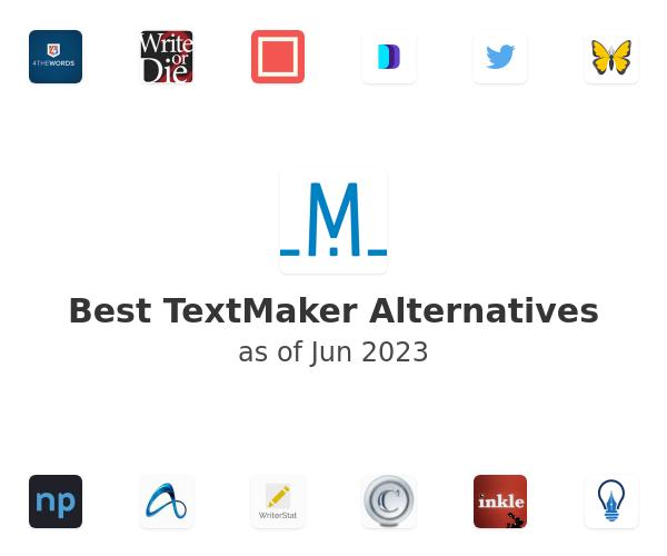 Best TextMaker Alternatives