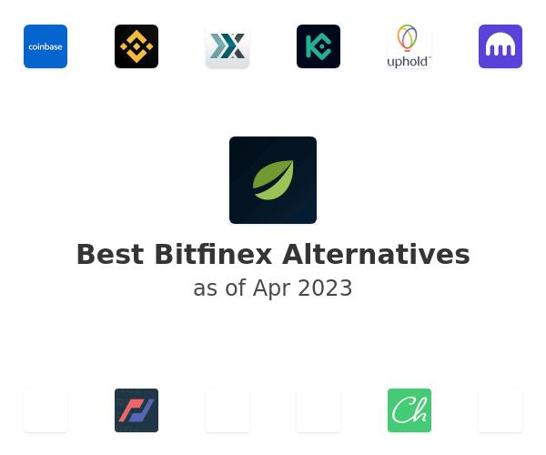 Best Bitfinex Alternatives