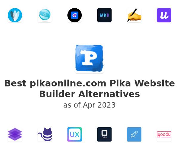 Best Pika Website Builder Alternatives