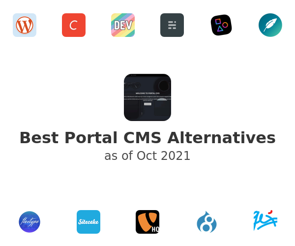 Best Portal CMS Alternatives