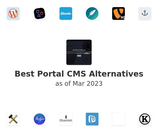 Best Portal CMS Alternatives