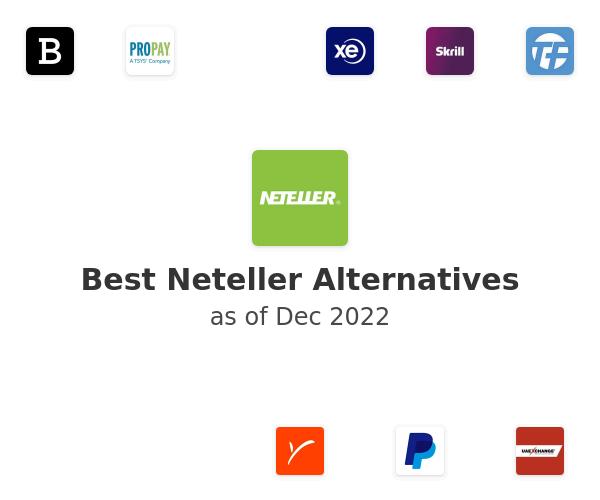 Best Neteller Alternatives