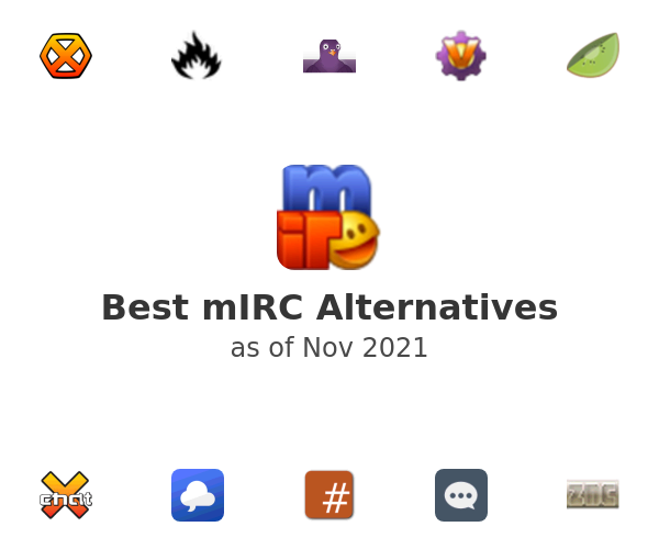 Best mIRC Alternatives