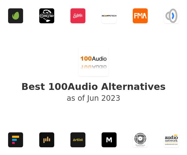 Best 100Audio Alternatives