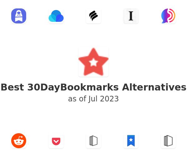 Best 30DayBookmarks Alternatives