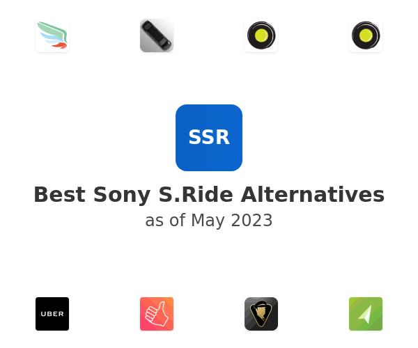 Best Sony S.Ride Alternatives