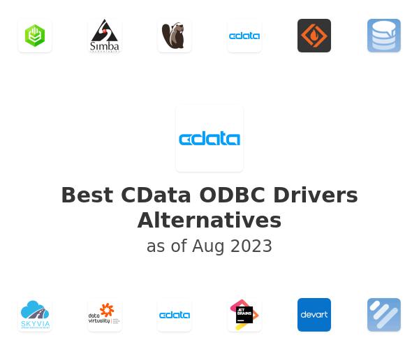Best CData ODBC Drivers Alternatives