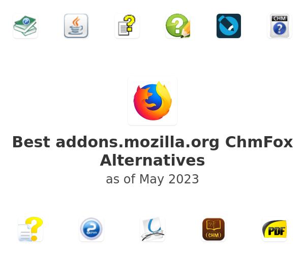 Best addons.mozilla.org ChmFox Alternatives