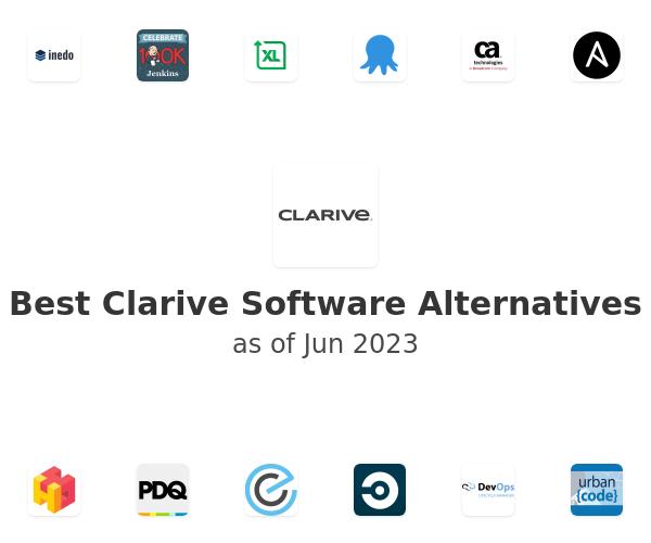 Best Clarive Software Alternatives