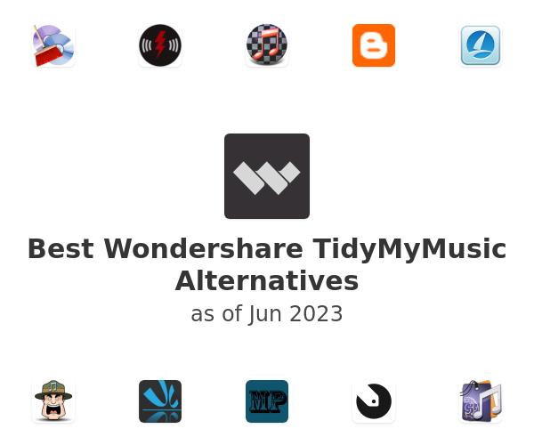 Best Wondershare TidyMyMusic Alternatives