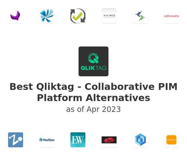 Best Qliktag - Collaborative PIM Platform Alternatives