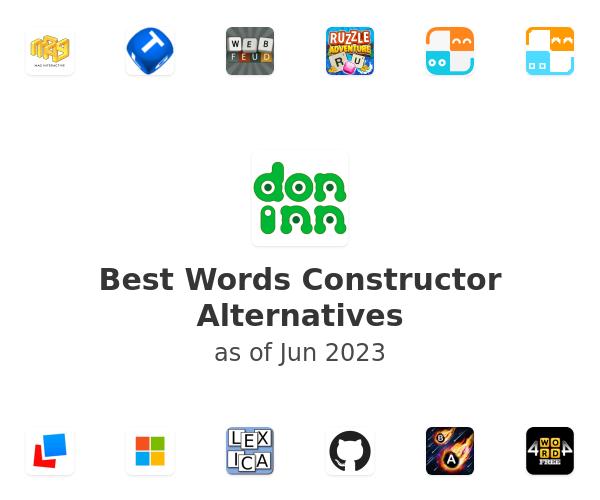 Best Words Constructor Alternatives