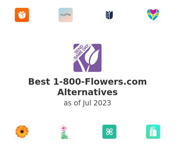 Best 1-800-Flowers.com Alternatives