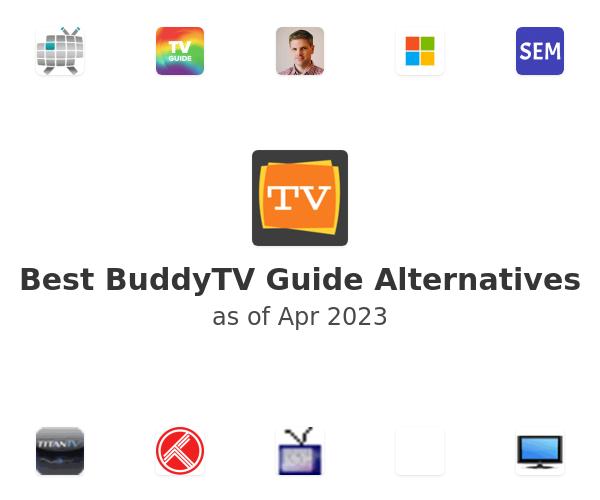 Best BuddyTV Guide Alternatives