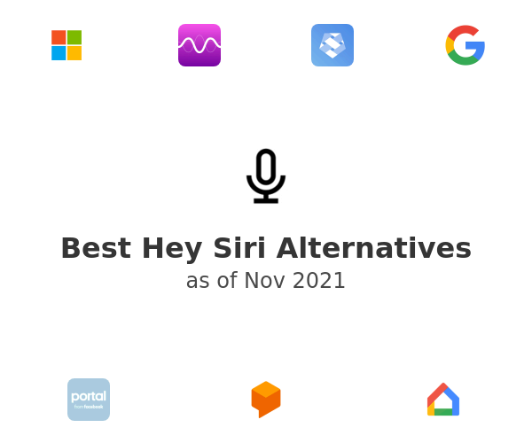 Best Hey Siri Alternatives