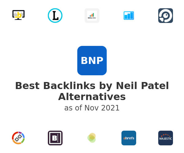 Best Backlinks by Neil Patel Alternatives