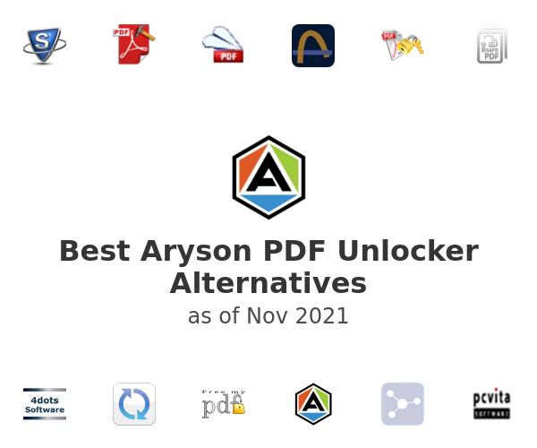 Best Aryson PDF Unlocker Alternatives
