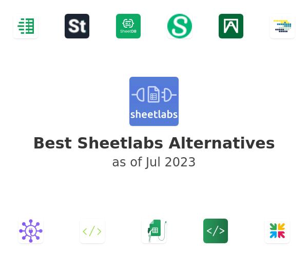 Best Sheetlabs Alternatives