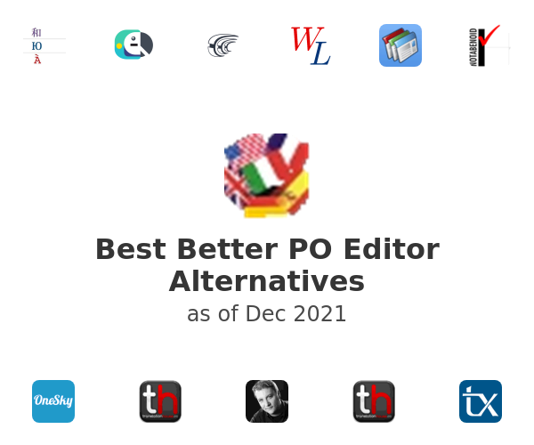 Best Better PO Editor Alternatives