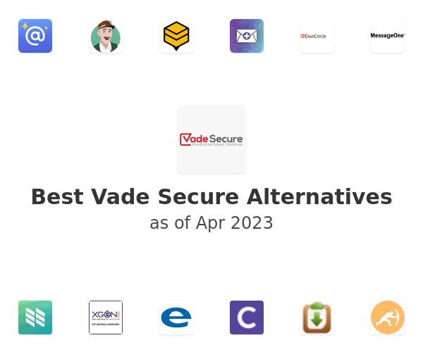 Best Vade Secure Alternatives