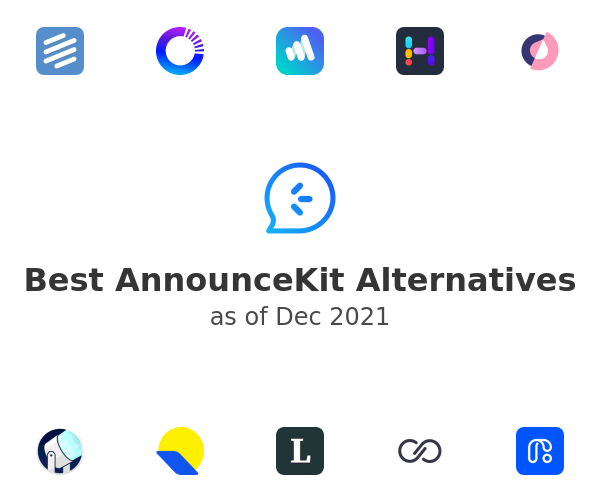 Best AnnounceKit Alternatives