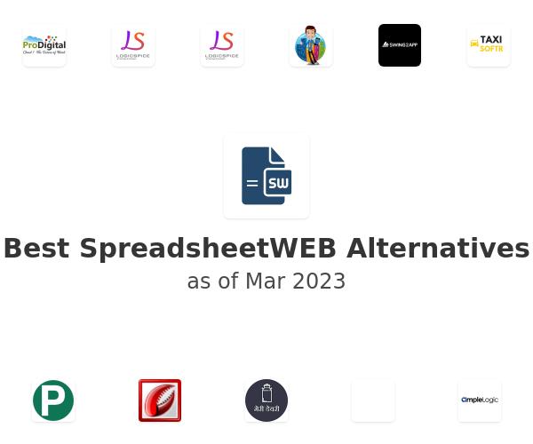 Best SpreadsheetWEB Alternatives