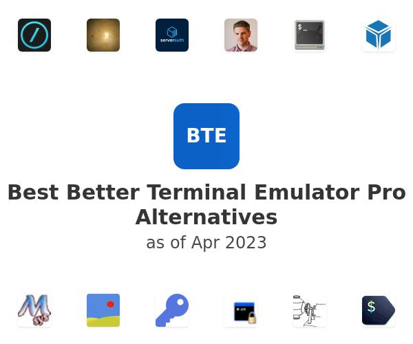 Best Better Terminal Emulator Pro Alternatives