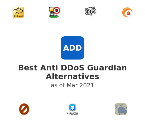 Best Anti DDoS Guardian Alternatives