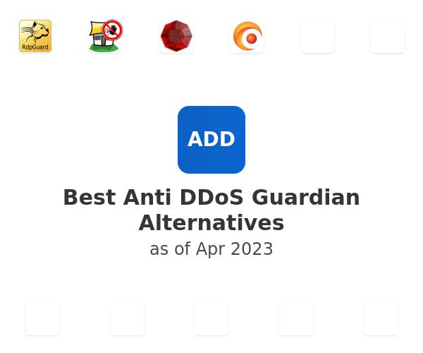 Best Anti DDoS Guardian Alternatives